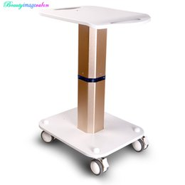Wholesale Trolley For Beauty Machine - New Arrival Styling Pedestal Rolling Cart ABS For Cavitaion Vacuum RF Beauty Machine Use Trolley Stand