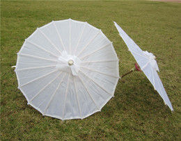 Wholesale Wholesale Umbrella Frames - Bridal wedding paper Umbrella Craft Umbrella Handmade Fashion Hot Chinese Straight Bamboo frame wedding umbrellas dance umbrella