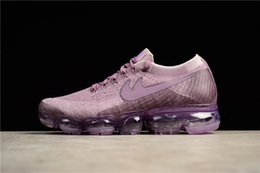 Wholesale Air Man Max - 2017 New Rainbow VaporMax 2018 BE TRUE Men Woman Shock Running Shoes For Real Quality Fashion Men Casual Vapor Maxes Sports Sneakers
