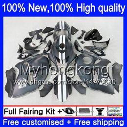 Wholesale Matte Black Fairings Gsxr - Body Bodywork For SUZUKI Hayabusa GSXR1300 08 09 10 11 19XH49 GSX R1300 Matte black 2008 2009 2010 2011 GSXR 1300 12 13 14 15 Fairing kit