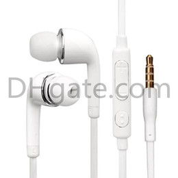 Wholesale Galaxy S4 Perfect - 2017 hot cell phone GALAXY S4 9500 N7100 mobile phone headset wire wire perfect support mobile phone, tablet computer