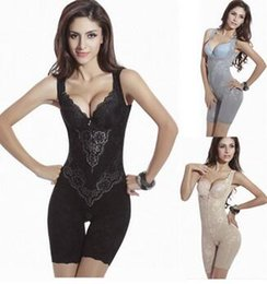 Wholesale Slimming Legs Shaper - Women Sexy Corset Shaper Magic Slimming Bodysuits Building Underwear Ladies Shapewear Slimming Suits Pants Legs Body Shaping