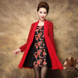 Wholesale Fish Furs - Elegant Fish Style Sweetheart Beading Knee length Mother of the Bride Dresses With Jacket mere de la robe de mariee