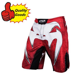 Wholesale Mma Shorts Red - MMA short Amazonia Red Fight shorts-Muay Thai boxing