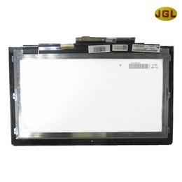 Wholesale Ideapad Yoga - Wholesale- New Oroginal replacement for Lenovo Ideapad Yoga 13.3 lcd display & Touch screen digitizer Tablet Screen LP133WD2 (SL) (B1)