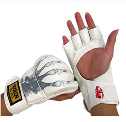 Wholesale Boxing Sparring Gloves - Professional MMA Boxing Gloves Sparring Gloves Sanda Training Gloves Kickboxing Gloves