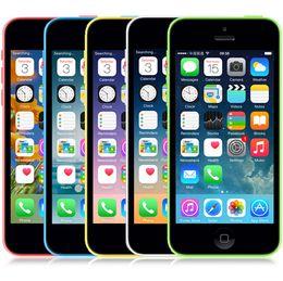 Wholesale Iphone 5c 16gb White - Original Unlocked Apple iPhone 5C Mobile Phone 16GB rom iphone 5C 8mp camera GSM WCDMA iphone5c Best Quality Free shipping