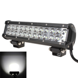 Wholesale Light Rear For Cars - 12 Inch 72W LED Work Light Bar Offroad 4X4 ATV Car Truck Fog Combo Lamp DC 10-30V Suitable for Indoor & Outdoor uses