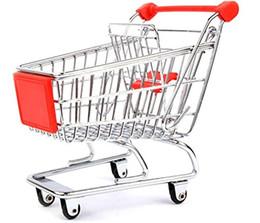 Wholesale Supermarket Shopping Cart Toy - Purple Star Parrots Bird Intelligence Toy Supermarket Cart Shopping Trolley