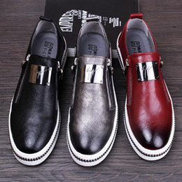 Wholesale Christmas Fund - 2016 autumn new fund sell like hot cakes men leather business dress casual leather shoes, fashion shoes