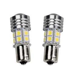 Wholesale Led Lights 1141 - Hot LED Car Light Bulb R5+1156 BA15S 12SMD 1141 12V 10W White 6000K LED Bulb Parking Tail Backup Reverse Light Universal LED Lamp