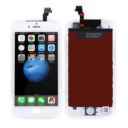 Wholesale Install Assembly - Perfect installed LCD Display for iPhone 6 iphone 6G LCD Grade AAA with Touch Screen Digitizer Assembly Replacement DHL Free Shipping