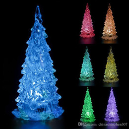 Wholesale Xmas Lights For Sale - hot sale new year Colorful Mini Changing LED Night light Lamp Decoration Mini Xmas Gift For Kids home decoration