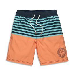 Wholesale Mens Swimming Suits - Wholesale-High Quality Brand Men Beach Shorts Elastic Waist Swim Boxer Trunks Swimwear Swim suits Brand Casual Mens Shorts Bermuda