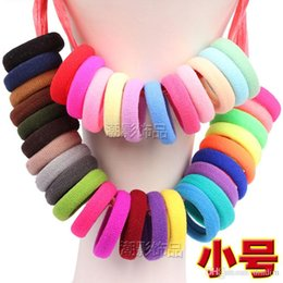 Wholesale Good Quality Hair Accessories - Good Quality Child baby Small Rubber Bands Elastic Ponytail Holders Hair Ring Accessories Girl Rubber Bands Tie Gum