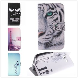 Wholesale Trends For Phone Cases - Wholesale-New Fashion Leather Case For samsung galaxy trend 2 lite (SM-G318H) Lite2 G313H Ace4 Neo G318H SM-G318H Phone Woman Man Cover