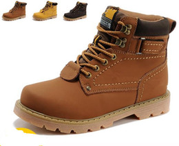Wholesale Tooling Boots Fashion - NEW Top quality Martin boots !Genuine Leather Men Women Outdoor Boots warm Snow Boots waterproof Tooling military Boots