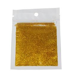 пыль золотистого цвета Скидка Wholesale- 2016 New Arrival Gold Color Glitter  Shining 3D Nail Glitter Dust Women DIY Manicure Paillette Manicure Styling Tool WY314