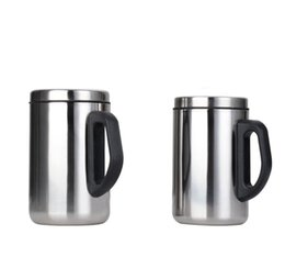 Wholesale Insulated Briefs - Stainless Steel Insulated Cup Anti Scald Creative Simple Double Layer Mug Business Gift Portable 6 86jd C R