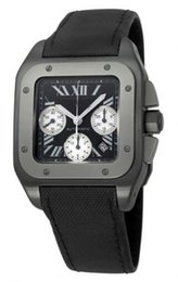 Wholesale Pin Gems - Luxury Mens 100 MENS AUTOMATIC BLACK STRAP WATCH W2020005 Watches Pasha Watch