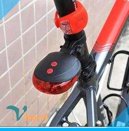 5LED 2Laser led Bike light 7 Flash Mode bicicleta Luz trasera impermeable Laser Tail Lámparas de advertencia Parpadeante 5 led 2 luz de precaución láser desde fabricantes