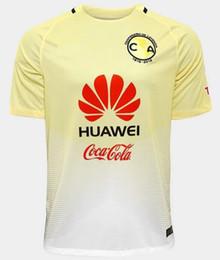 Wholesale Team Football Jersey Wholesalers - 2016 17 Club America Top Thai Quality Soccer Jerseys Best Thai Quality Cheap Football Uniforms New Club Team Jersey Football Shirts