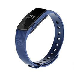 Wholesale iphone rating - ID107 ID 107 Smart Wristband Bluetooth Smart Bracelet smart band Step Counter Band for iphone samsung PK Fitbit TW64 wristband