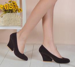Wholesale Dresses Size 42 44 - Pumps shoes woman Matte New 44 43 42 40 41 high heel 7.5CM Women's shoes with heels EUR Size 34-45