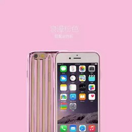 Wholesale Trunk Trolley Bags - 2016 Cool Fashion Brand Luxury Soft TPU Trunk Trolley case for Apple iphone 6 6s 6s plus Bracket shell skin cover bags