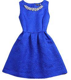 Wholesale Growing Fashion - 2016 Fashion O-neck Sleeveless Vestidos Solid Ball Grown Women Dress Elegant Women Vestido Slim Bottoming Dresses free shipping
