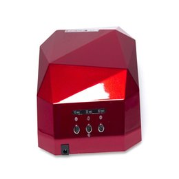 Wholesale New 36w Uv Lamp - Mother's Day Gift 36W Nail Dryer Diamond Shape LED UV CCFL Light Gel Curing Lamps 2016 New Popular Drying Gel Polish Nail Tools