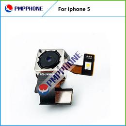 Wholesale iphone flash repair - Original Repair Parts Back Rear Camera Cam With Flash Module Flex Cable Ribbon For iPhone 5 5G