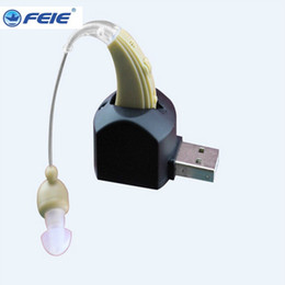 Wholesale Mini Hearing Amplifiers - ear hearing aid mini device sordos ear amplifier aides cheap digital hearing aids in the ear for elderly audifonos para sordos s-109