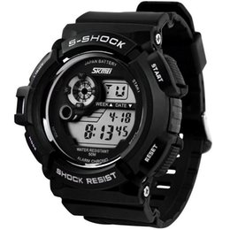 Wholesale Men S Army Watch - 2016 New G Style Digital Watch S Shock Men military army Watch water resistant Date Calendar LED Sports Watches relogio masculino