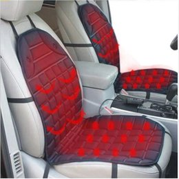 Wholesale Fiat 124 - Winter 12V Heated Car Seat Cushion Cover Seat Heater Warmer for Fiat Tipo 124 Spider Siena 500 500L 500X 500E Panda Qubo Punto