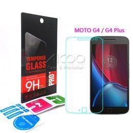 Wholesale Box Guard - 2.5D 9H For Motorola Moto Droid Turbo 2 G4 Plus E2 X Play Style MAXX X3 Premium Tempered Glass Screen Protector Film guard With Retail-box