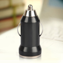 Wholesale Mini Usb Car Charger Adapter - Colorful Bullet Mini USB Car Charger Universal Adapter for iphone 5 6 6S plus S5 S6