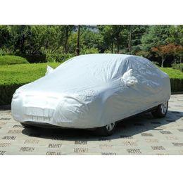 Wholesale Full Car Covers - Durable Car Covers Sunproof Dust-proof Rain Resistant Protective Anti UV Scratch Sedan Cover 450 x 170cm CEA_500