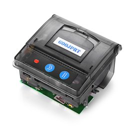Wholesale Compatible Laser - Original GOOJPRT QR203 58mm Mini Embedded Micro Receipt Thermal Printer RS232   TTL USB Panel Compatible with EML203 Black