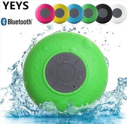 Wholesale Waterproof Phones For Sale - hot sale Portable Subwoofer Shower Waterproof Wireless Bluetooth mini Speaker Car Handsfree Call Music Suction Mic For IOS Android Phone