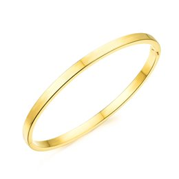Wholesale Gold Plated Great Wall - Gold plated bangle jewelry bracelets bangles simple open bangle for women 18K gold plated bangles w  Great Wall wholesale ZKH472