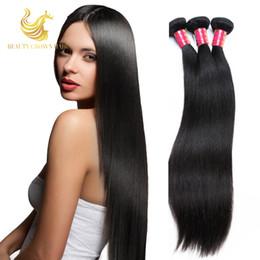 Wholesale Discount Remy Hair Bundles - Big Discount Trebellar Hair Products 7a Malaysian Virgin Hair Straight Human Hair Bundles 3Pcs Lot Cheap Malaysian Straight Hair Wave