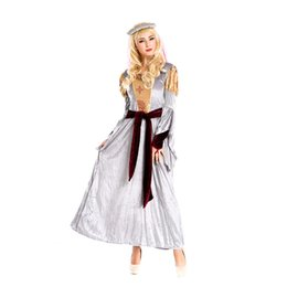 Wholesale Girls Indian Dance Costumes - Halloween costume Arab TDP Indian dance costumes nightclub Arab girl costume dress ds games