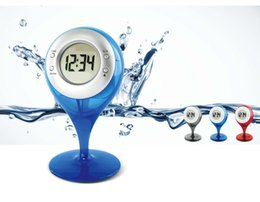 Wholesale Bell Calendar - The alarm clock creative creative electronic gift new water power alarm bell water goblet
