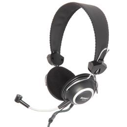 Wholesale Original Pro Headphones - Wholesale-Original Somic SH818 3.5mm Over Ear Pro Music Bass Stereo Headset Headphones Earphone with Mic Ergonomic Design for PC Computer