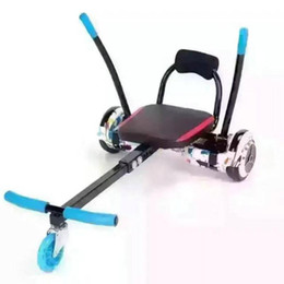 Wholesale Electric Scooter Kids - HOT! HoverSeat Hoverkart for 6.5,10 inch hoverboard accessories smart electric scooter Go-Karting Karting Kart for adults kids NEW