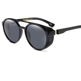 2019 óculos de sol redondos e reflexivos 2017 retro moda vintage rodada óculos de sol para as mulheres círculo em forma de espelho reflexivo óculos de sol para senhoras oculos feminino uv400 y119 óculos de sol redondos e reflexivos barato