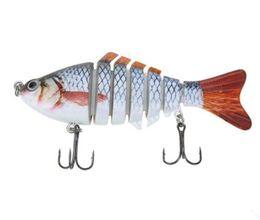 Wholesale Segment Swimbait Crankbait Hard Bait - Lixada Fishing Lure Wobbler Lifelike 7 Segment 14g Swimbait Crankbait Hard Lure Isca Artificial Fishing Tackle Drop Shipping