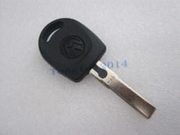 Wholesale Vw Golf Blank Key - 1 Button Car Key Blank Shell for Volkswagen VW B5 Passat Golf Jetta car atomizer