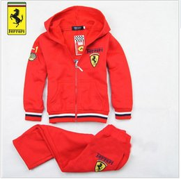 Wholesale Hoodies Pants Sports Wears - new fashion spring autumn baby children clothing set car children clothing suits boys hoodies sports clothes pants casual wear